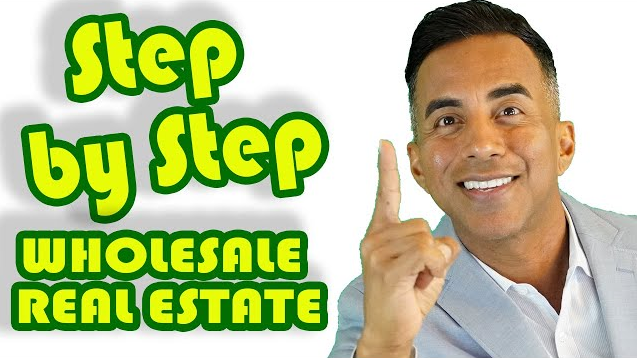 step by step wholesale real estate